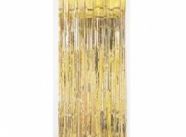 cortina dourada 2.4x91cm