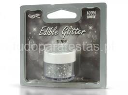 edible glitter prateado2