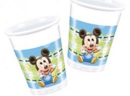 mickey bebe copos