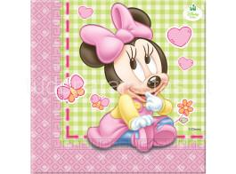 minnie bebe guardanapos