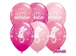 minnie rosa baloes latex