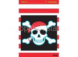 pirata saco brinde