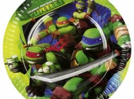 tartarugas prato 23cm