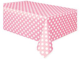 toalha bolinhas rosa claro