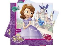 princesa sofia guardanapos