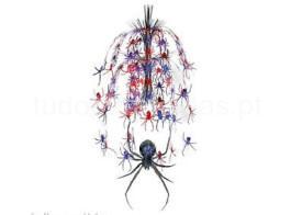 halloween-decoracao-pendurar-aranhas_