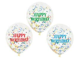 balao confetti haapy birthday multicor