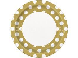 bolinhas-dourado-prato-22cm_
