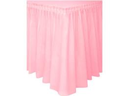 saia mesa rosa claro