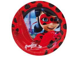 ladybug prato 23cm