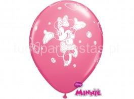 minnie balao latex rosa