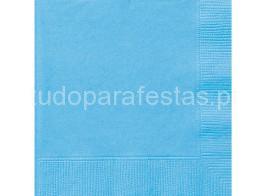 azul claro guardanapos