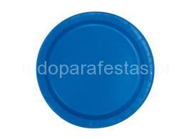 azul royal prato 17cm