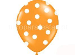 balao latex balao laranja