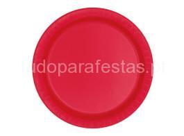 vermelho prato 17cm