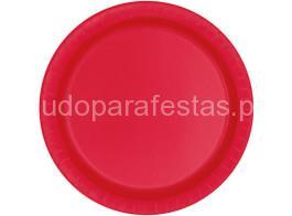 vermelho prato 22cm_