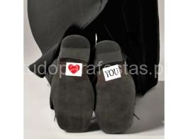 casamento autocolante love you