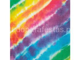 arco iris guardanapo
