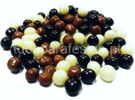 bolinhas chocolate misto