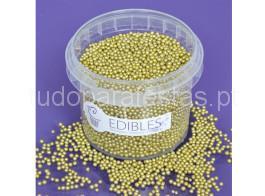 perolas douradas 2mm