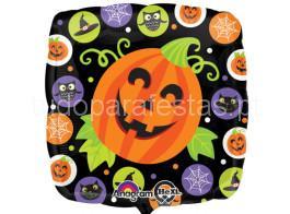 halloween balao quadrado 2