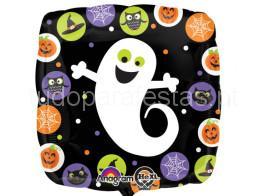 halloween balao quadrado