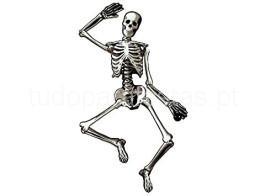halloween esqueleto 135cm