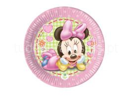 minnie baby pratos 7'