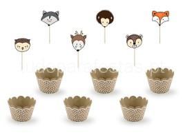 raposa cupcake kit