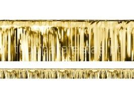 ano novo cortina dourada 18.5cm