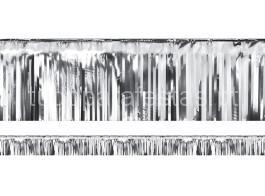 ano novo cortina prateada 18.5cm