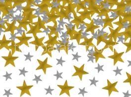 confetti estrelas