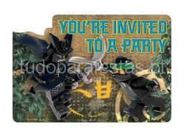 ninjago convites