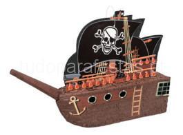 pirata barco pinhata