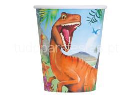 dinossauro copos
