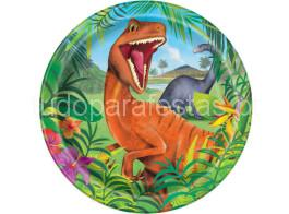dinossauro prato 22cm