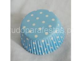 forminhas azul dots
