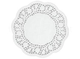 naperon branco 12cm