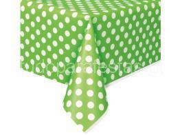 toalha bolinhas verde