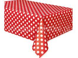 toalha bolinhas vermelha