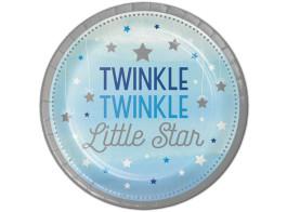 twinkle azul pratos 22cm