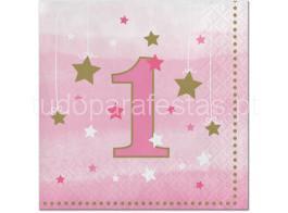 twinkle rosa guardanapos
