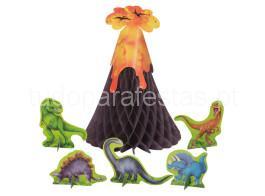 dinossauro centro mesa