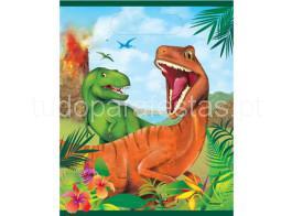 dinossauro saco brinde