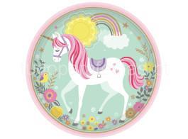 unicorn pratos 23cm