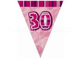 30 anos bandeira rosa