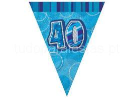 40 bandeira azul
