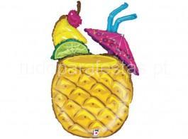 fruta balao ananas coktail