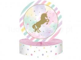 unicornio centro mesa