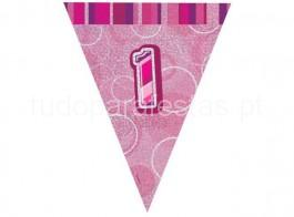 1 bandeira rosa